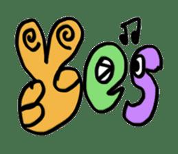 Word Art sticker #609646