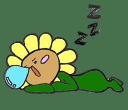 Feeling of flower sticker #609927