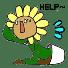 Feeling of flower sticker #609933