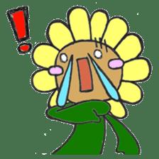 Feeling of flower sticker #609938