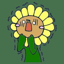 Feeling of flower sticker #609939