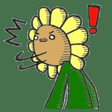 Feeling of flower sticker #609940