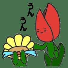 Feeling of flower sticker #609943