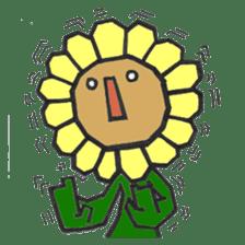 Feeling of flower sticker #609944