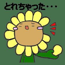 Feeling of flower sticker #609946