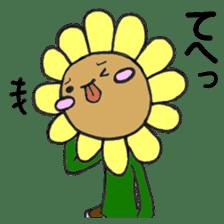 Feeling of flower sticker #609951