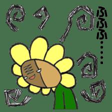Feeling of flower sticker #609954