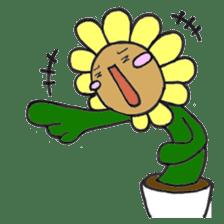 Feeling of flower sticker #609960