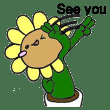 Feeling of flower sticker #609961