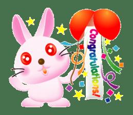 Miytan,Rabbit version sticker #610322