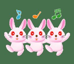Miytan,Rabbit version sticker #610323