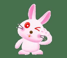 Miytan,Rabbit version sticker #610325