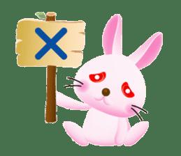 Miytan,Rabbit version sticker #610327