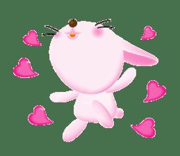 Miytan,Rabbit version sticker #610330