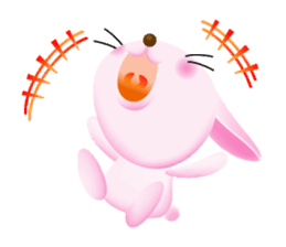 Miytan,Rabbit version sticker #610333