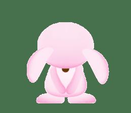 Miytan,Rabbit version sticker #610334