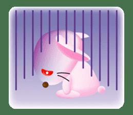 Miytan,Rabbit version sticker #610338