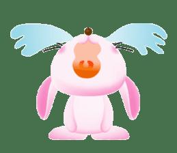 Miytan,Rabbit version sticker #610345