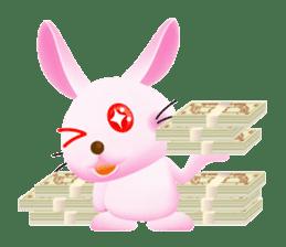 Miytan,Rabbit version sticker #610347