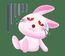 Miytan,Rabbit version sticker #610349
