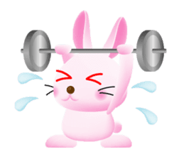 Miytan,Rabbit version sticker #610352