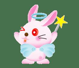 Miytan,Rabbit version sticker #610356