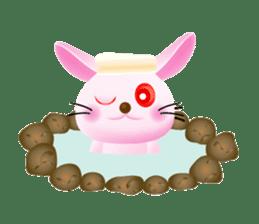 Miytan,Rabbit version sticker #610360