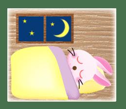 Miytan,Rabbit version sticker #610361