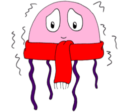 James the jellyfish sticker #611159