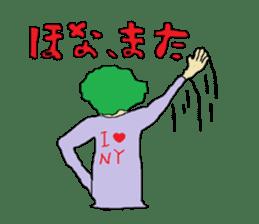 Interesting liver Kawa series sticker #612569