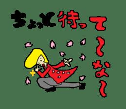 Interesting liver Kawa series sticker #612577