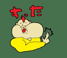 Interesting liver Kawa series sticker #612582