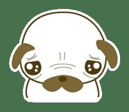 """Pug mame """"Pug-suke"""" sticker #612623"""