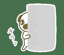 """Pug mame """"Pug-suke"""" sticker #612629"""