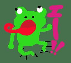 Frog Sticker sticker #612645