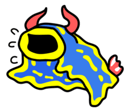 Only blue sea slug(vol.2) sticker #613543