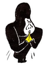 Gorilla Gossan sticker #614970