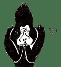 Gorilla Gossan sticker #614973