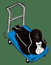 Gorilla Gossan sticker #614975