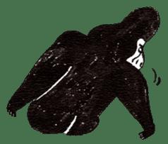 Gorilla Gossan sticker #614983