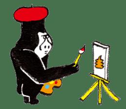 Gorilla Gossan sticker #614990