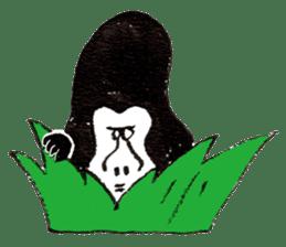 Gorilla Gossan sticker #614996