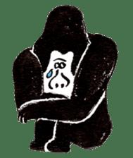 Gorilla Gossan sticker #615000