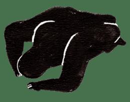 Gorilla Gossan sticker #615001