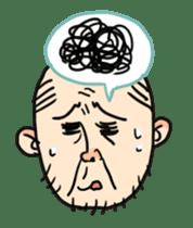 Uncle emotional sticker #615004
