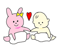 Love Baby sticker #615196