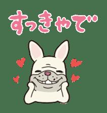 The French bulldog of Naniwa sticker #615378