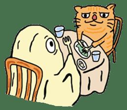 ONIGIRI WORLD in japanese sticker #616038