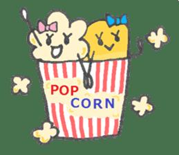 POP & CORN sticker #616445