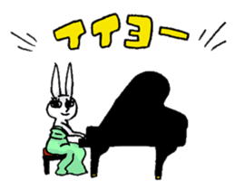 Crankybox rabbit sticker #618453